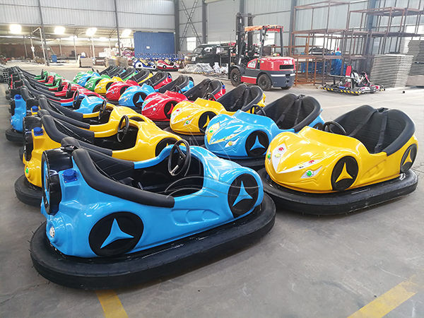 20 Bumper Cars Are Ready for Our Philippine Client